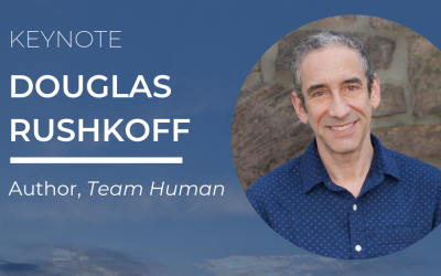 DOUGLAS RUSHKOFF TO APPEAR AT COMCAP19